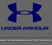Maillot extérieur Under Armour 2013 2014 l'ASM Clermont Auvergne