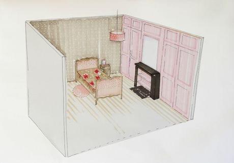 Chambre de petite fille 4 ans d couvrir - Chambre parentale 12m2 ...