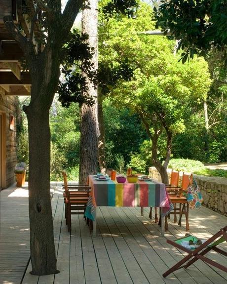 Une terrasse ombragée… | À Découvrir