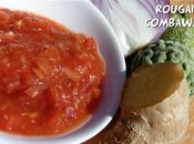 Rougail tomates, combawa gingembre, accompagnement