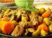 Tajine Zitoune plat ramadan 2013