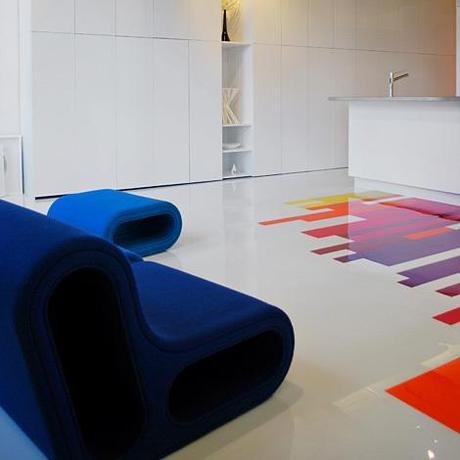 un loft plein de couleurs lire. Black Bedroom Furniture Sets. Home Design Ideas