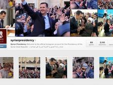 Bachar el-Assad ouvre compte instagram