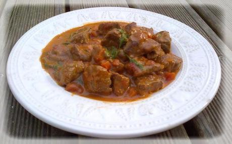 Fricassée de boeuf au curry