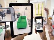 Réalité augmentée IKEA pour essayer meubles dans votre intérieur