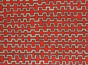 Focus oeuvre présentée Parcours Mondes 2013 peintre aborigène Danny Gibson TJAPALTJARRI, Kintore-Papunya, Australie