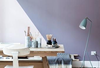 peindre un mur autrement paperblog. Black Bedroom Furniture Sets. Home Design Ideas