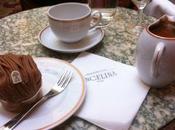 Prendre chocolat chaud mont blanc chez Angelina