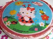 Bavaroi fraise spéculoos, Hello Kitty