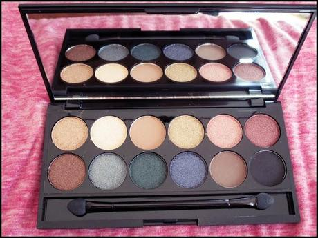 Maquillage n 24 storm de sleek d ception flamingo - Meilleure palette maquillage ...