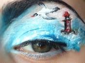 Maquillage artistique océan