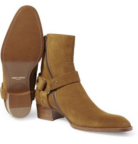 shoes saint homme saint laurent boots homme week end boots eWHEIYb29D