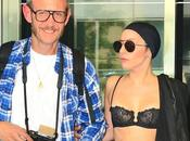 PHOTO Lady Gaga soutien gorge avec Terry Richardson