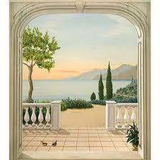 Tendance d co les mat riaux trompe l oeil paperblog - Deco trompe l oeil muurschildering ...