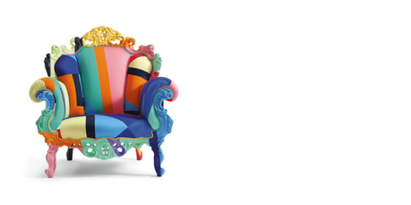 design fauteuil poltrona di proust by alessandro mendini paperblog. Black Bedroom Furniture Sets. Home Design Ideas