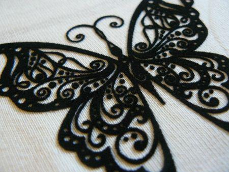 papillon en dentelle de velours diy paperblog. Black Bedroom Furniture Sets. Home Design Ideas