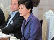 hommes, femme Corée