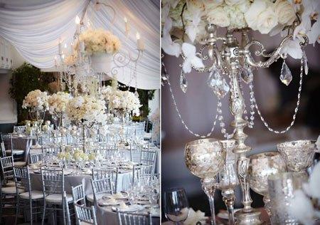 D coration de mariage cristal d couvrir - Decoration chandelier pour mariage ...