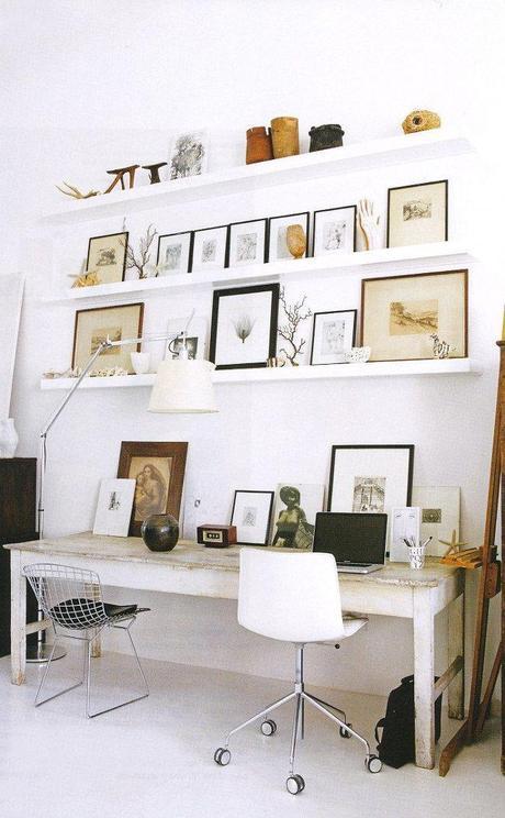 Diy un bureau fait maison paperblog for Bureau fait maison