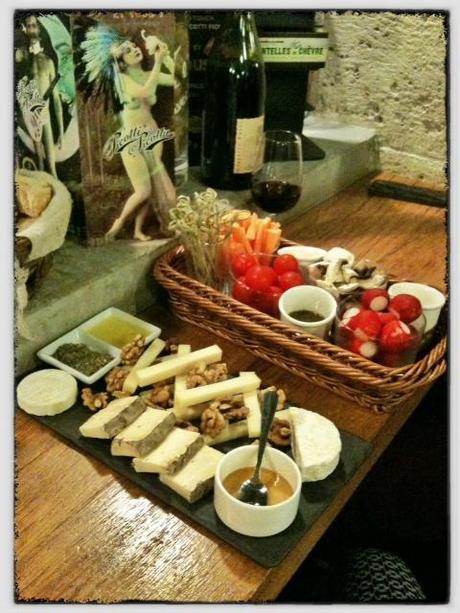 L'Ivress bar à vins Paris - planches - ©pilierdebuffet