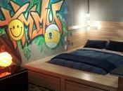 Murale graffiti pour chambre d'ados