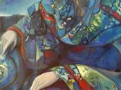 Peinture contemporaine Ghislaine Segal part l'Aube