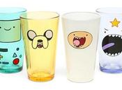 Adventure Time Face Pint Glass