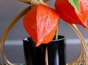 Composition florale japonisante