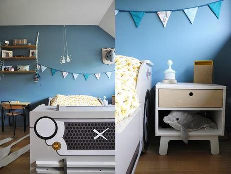 chambre de petit gar on avant apr s voir. Black Bedroom Furniture Sets. Home Design Ideas