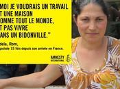 Amnesty International dénonce sort Roms condamnés l'errance