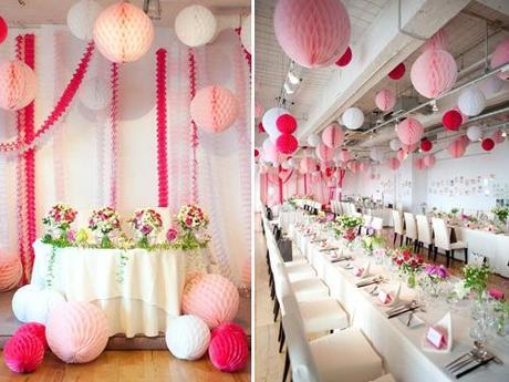 Boules Decoration Arbre Fushia