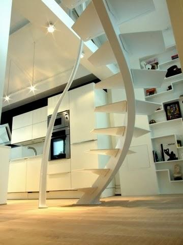 collection escalier design et mezzanine de loft voir. Black Bedroom Furniture Sets. Home Design Ideas