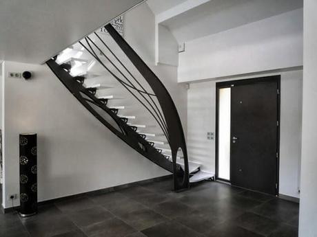 collection escalier design et mezzanine de loft voir. Black Bedroom Furniture Sets. Home Design Ideas