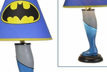 les lampes de chevet super h ros paperblog. Black Bedroom Furniture Sets. Home Design Ideas