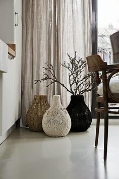 d coration salon avec vase. Black Bedroom Furniture Sets. Home Design Ideas