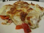 Plat: Lasagnes Ricotta Poulet Poivrons