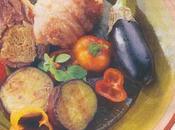 Gigotins canard broche aubergines grillées marjolaine