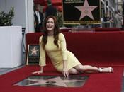 Julianne Moore reçu étoile Hollywood Walk Fame