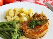 Côtes porc sauce tomate
