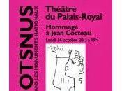 Lundi octobre, magnifique hommage Jean Cocteau Palais Royal, Didier Sandre