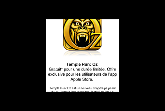 Temple Run Oz gratuit sur l'Apple Store iOS - Paperblog