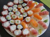 Makis, sushis nigiris tupperware
