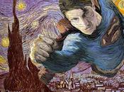 super-héros version peinture classique