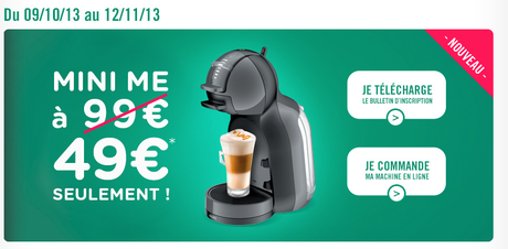 une machine gagner mini me par nescaf dolce gusto a d m nage voir. Black Bedroom Furniture Sets. Home Design Ideas