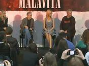 MALAVITA conférence presse Robert Niro, Michelle Pfeiffer, Dianna Agron Besson Vidéo