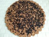 cookie géant hyperprotéiné noisette chocolat avec farines souchet, millet coco stévia (sans sucre oeufs beurre)