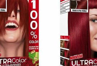 coloration rouge by garnier 100 color au top dcouvrir - Coloration Rouge Intense