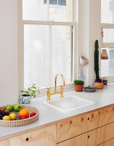 a melbourne un appartement en bois blond voir. Black Bedroom Furniture Sets. Home Design Ideas