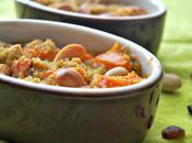 Gratin courge butternut, quinoa noix cajou