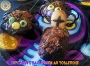Cupcakes d'Halloween Toblerone